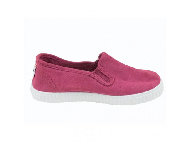 Zapatillas urbanas lona niña elásticos