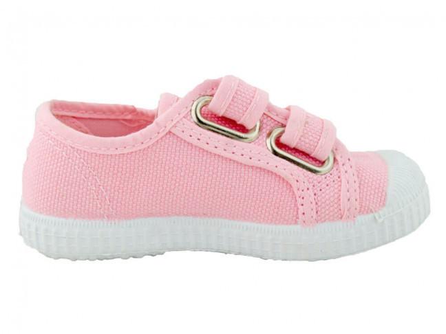 Zapatillas Lona Niña Velcro