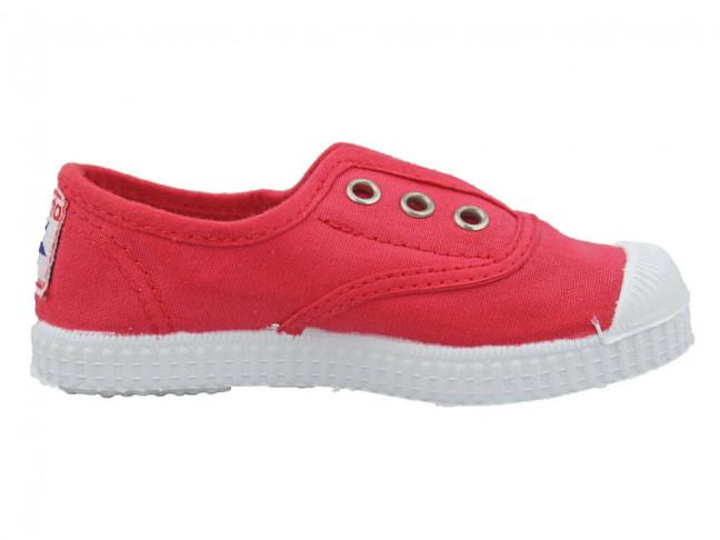 Zapatillas bambas niño niña puntera lavadas fresa