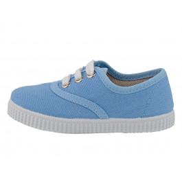 Zapatillas lona Bambas ECO azules