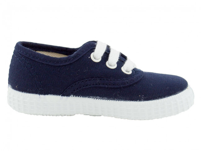 Zapatillas Lona Bambas Victoria Azul marino