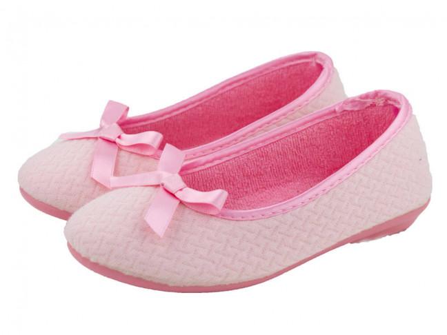Zapatillas de casa Bailarinas niña rosas