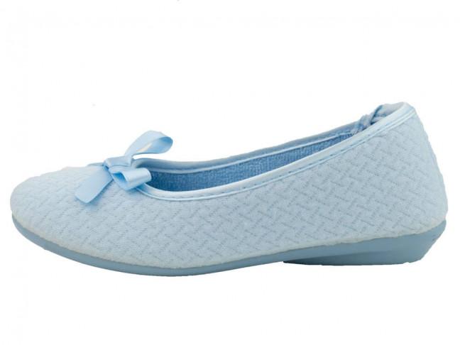 Zapatillas de casa Bailarinas niña azul claro