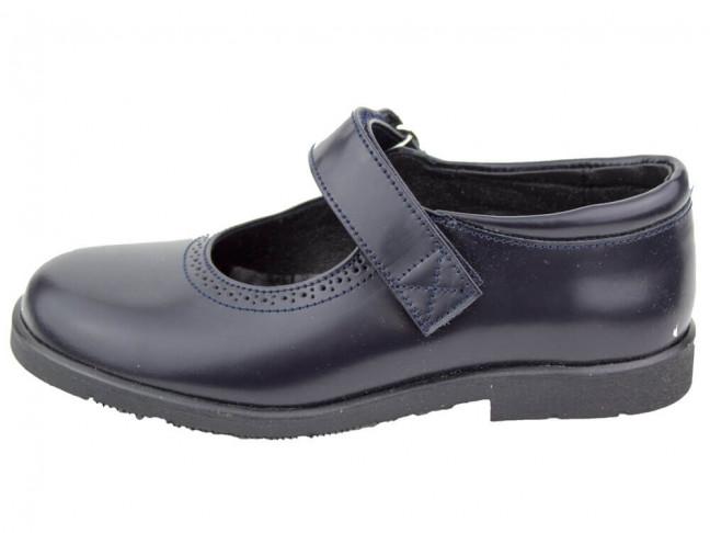 Zapatos colegiales Merceditas Florentik HAMILTOM AZUL MARINO
