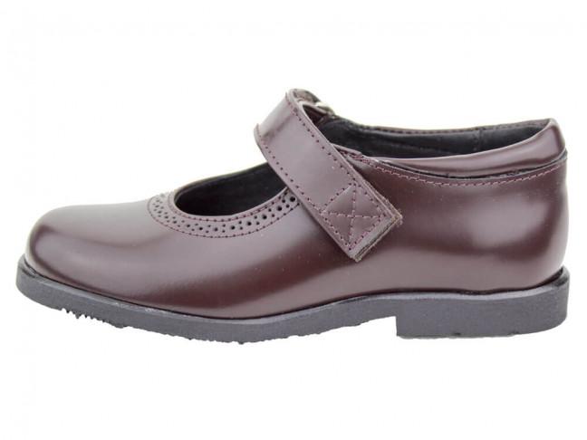 Zapatos colegiales Merceditas Florentik HAMILTOM MARRONES