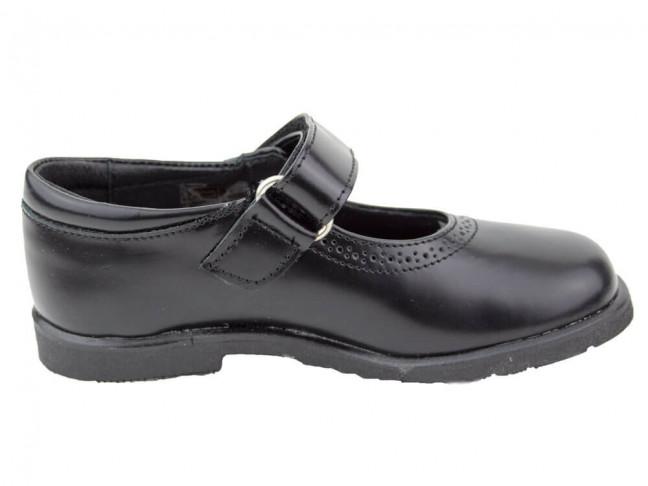 Zapatos colegiales Merceditas Florentik HAMILTOM NEGRO