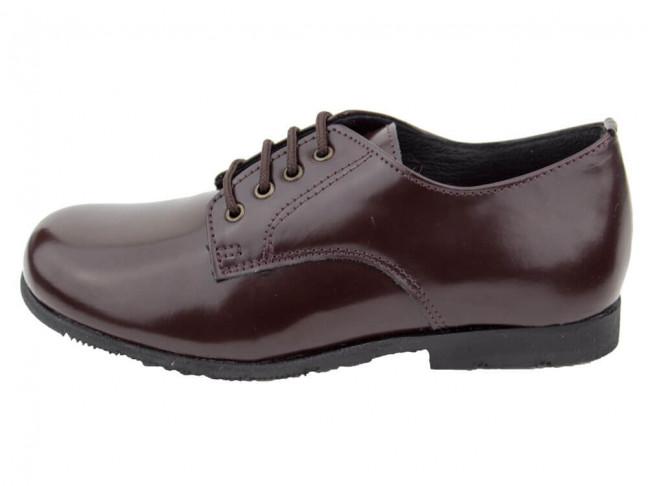 Zapatos colegiales Blucher Florentik HAMILTOM MARRONES