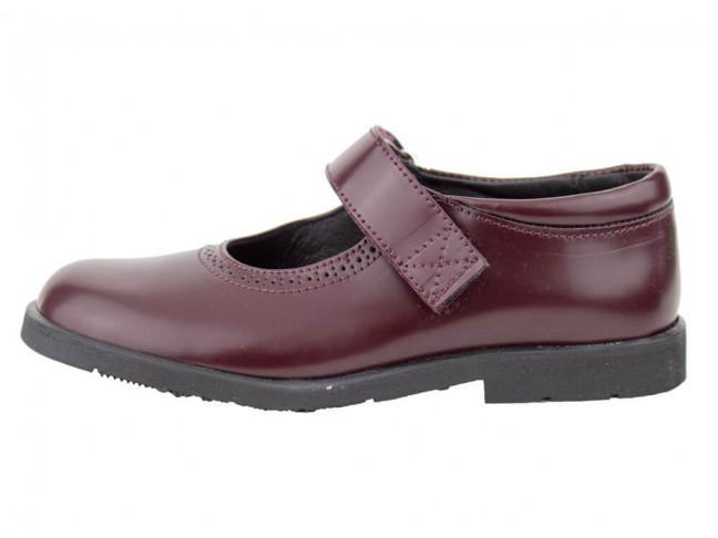 Zapatos colegiales Merceditas Florentik HAMILTOM BURDEOS