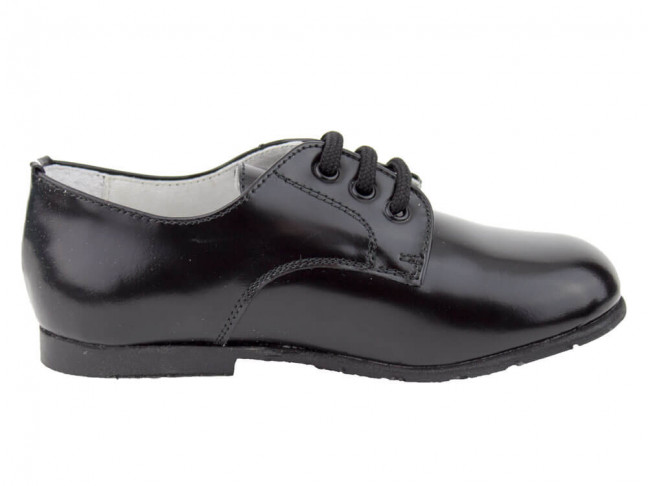Zapatos colegiales Blucher Florentik HAMILTOM negro