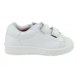 Zapatilla de Deporte Bebé Niño Niña Velcro blancas
