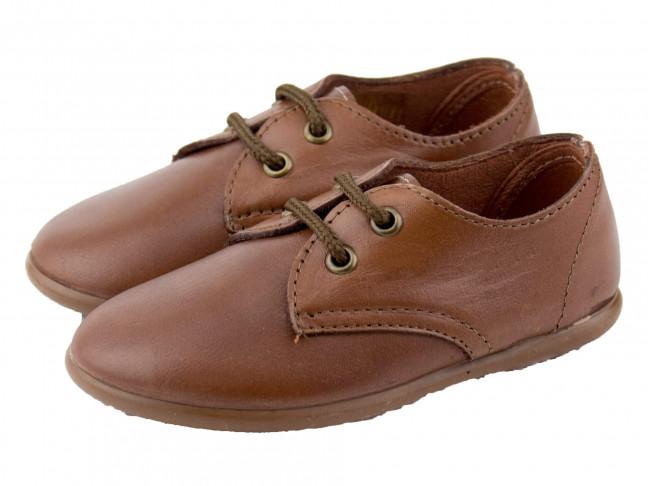 Zapatos blucher piel blanda cuero