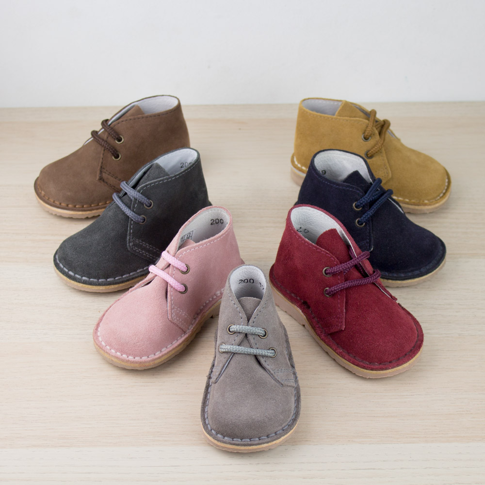 Pisacacas botas safari niños
