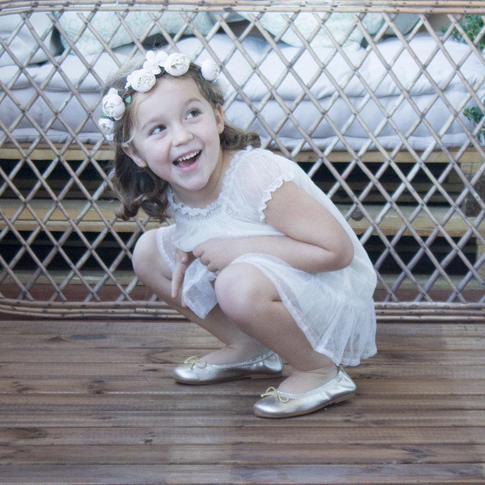 calzado infantil de comunión