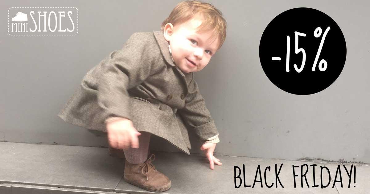 Calzado infantil Black Friday