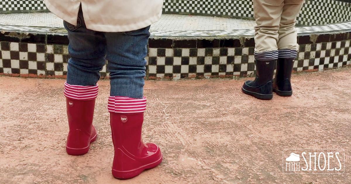 f9f1d6c58c Estas botas de niños de Igor son unisex por lo que pueden ser usadas tanto  por un niño como por una niña. Vienen forradas por dentro con una tela para  que ...