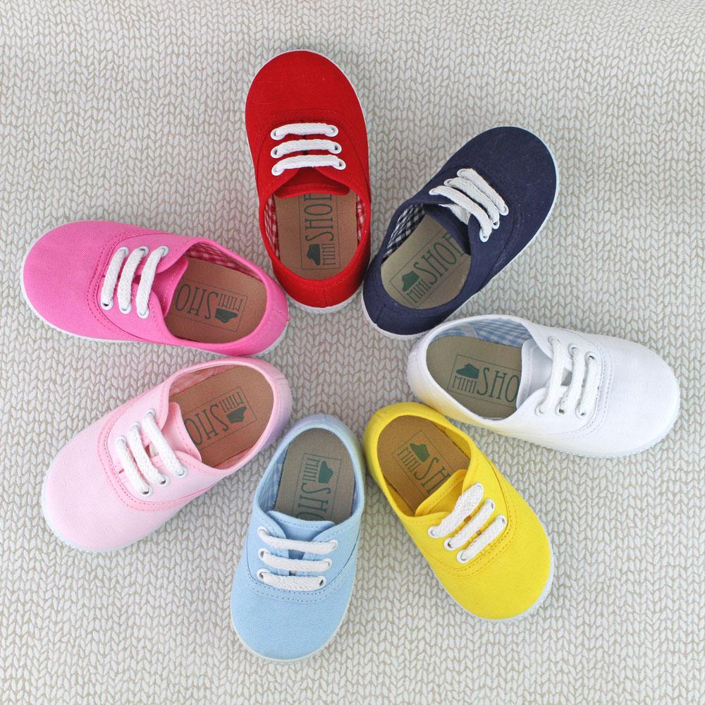 Zapatillas bambas niño