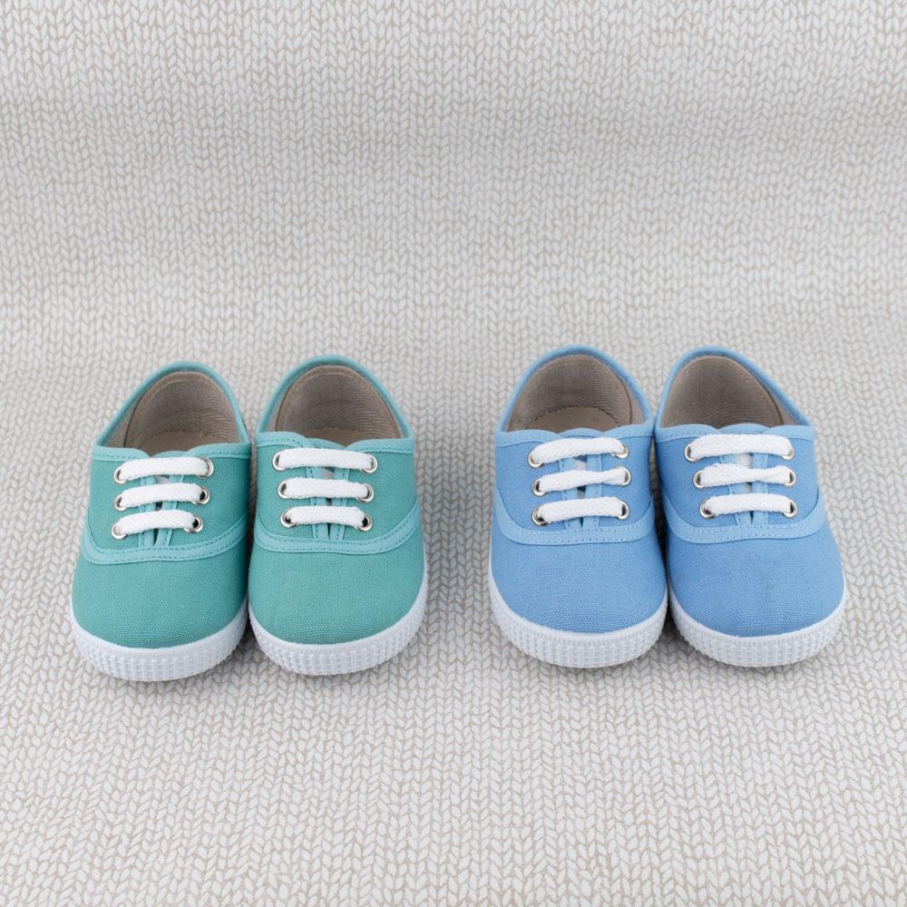 zapatillas lona niños